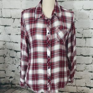 Nordstrom L New York Plaid Shirt Large